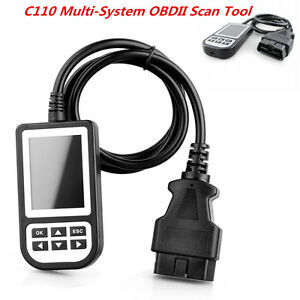 C110 Multi System Engine Code Reader Airbag Abs Srs Diagnostic Scan Tool For Bmw