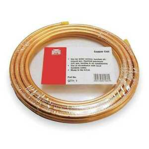 7 8 Od X 50 Ft Coil Copper Tubing Type Acr Mueller Industries 659r