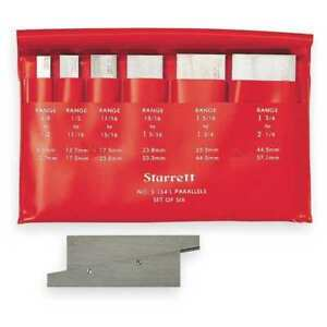 1 3 4 To 5 1 16 Precision Adjustable Parallels Starrett S154lz