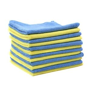12 Pcs Pack Microfiber Cleaning Cloth For Home Auto Boats Lint Free Streak Free