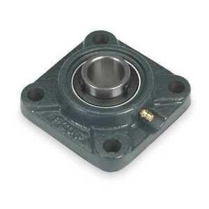 Flange Bearing 4 bolt ball 2 Bore Dayton 3fcy4
