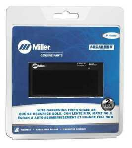 Miller Electric 770660 Welding Lens 2 X 4 In 8 Auto darkening