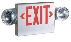Cooper Lighting Led incandescent Exit Sign emergency Lights Lpxh7dh