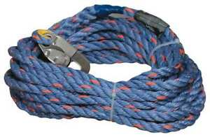 50 Ft l Vertical Lifeline Temporary Honeywell Miller 300l z7 50ftbl