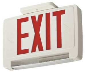 Acuity Lithonia Thermoplastic Led Exit Sign emergency Lights