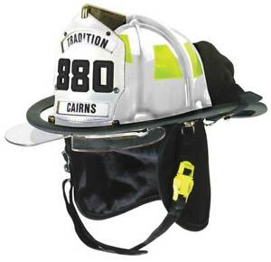 Cairns C trd 5452a3220 Fire Helmet White Traditional
