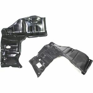 New Set Of 2 Right Left Side Engine Under Cover Splash Shield For Geo Prizm