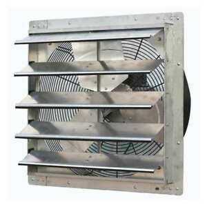 Exhaust Fan 20 In 115v 1 3hp 1725rpm Dayton 1hla7