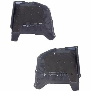 New Set Of 2 Right Left Engine Under Cover Splash Shields For Honda Accord