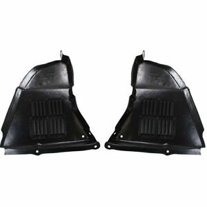 New Set Of 2 Engine Under Cover Right Left Side Splash Shields For Bmw 550i