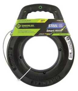 Greenlee Fts438dl 150 Fish Tape 1 8 In X 150 Ft steel