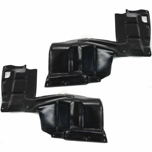 New Set Of 2 Left Right Under Cover Splash Shields For Toyota Celica 2000 2005