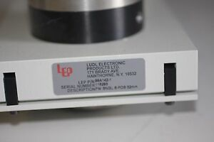 Ludl Electronic Filter Wheel 99a142 Fw Sngl 6 pos 32mm