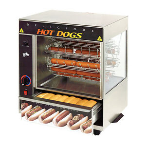 Star 175cba 32 Hot Dog Capacity Broil o dog Hot Dog Broiler Rotisserie