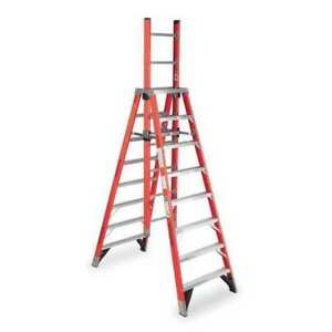 8 Fiberglass 300 Lb Extension Ladder Type Ia Werner E7408