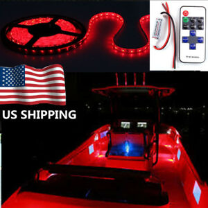 Red led lights strip oem new and used auto parts for all model 16 ft wireless 16 ft wireless red led light strip mozeypictures Choice Image