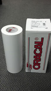 Oracal 341 1 Roll 15 x50yd 150ft White Gloss Sign Vinyl