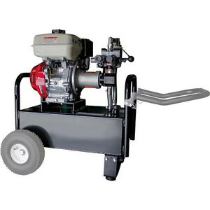 Hydraulic Power System Portable Honda Engine 10 3 Gal 7 Gpm 1 500 Psi