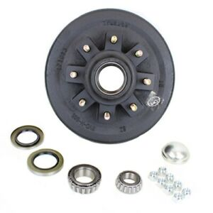 Eight Stud 7 000 Lbs Axle Hub And Drum With Parts