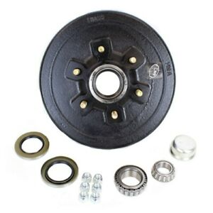 Six Stud 5 200 6 000 Lbs Axle Hub And Drum With Parts