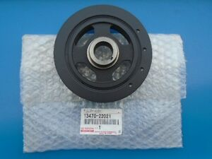 Genuine Toyota Corolla Crankshaft Pulley Without Xrs 13470 0d010