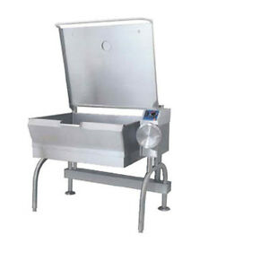 Cleveland Sgl40t1 40 Gallon Gas Powerpan Tilting Skillet