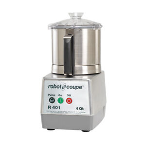 Robot Coupe R401 B Food Processor With 4 5 Quart Stainless Steel Bowl