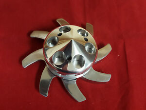 Polished Aluminum Alternator Pulley Fan Gm Sbc Bbc Chevy Delco 327 350 305 454