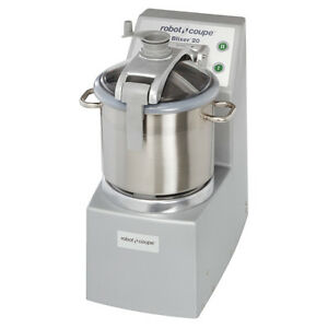 Robot Coupe Blixer 20 Healthcare Facility Blender mixer With 20 qt Ss Bowl