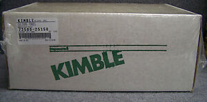 Kimble Glass 73500 25150 73500 25150 Culture Tubes 1 Box Of 125 Tubes