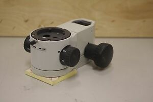 Wild Leica M3c Stereo Microscope On Focusing Arm