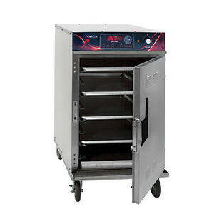 Cres Cor 1000 ch split stk sk de Stacked Low Temp Smoker Cook n hold Cabinet