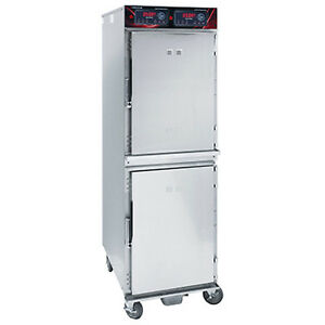 Cres Cor 1000 hh ss 2de Mobile Heated Cabinet
