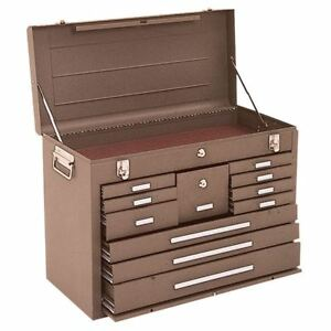 Kennedy 3611b 11 Drawer Machinists Chest dim 26 1 2 X 12 1 16 X 18 13 16