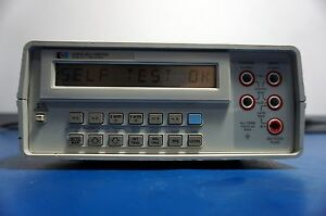 Hewlett Packard Agilent Hp 3468a Digital Multimeter Tested