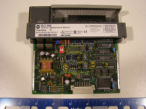 Allen bradley Slc 500 Analog Combination I o Module 1746 ni04i Series A Freeship