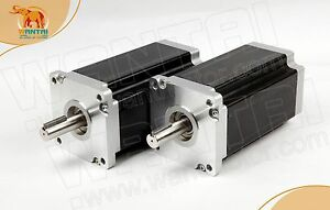 Wantai 2pc Nema42 Stepper Motor 110bygh201 001 8a 201mm 4200oz in Engraving