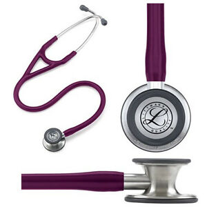 Littmann Cardiology Iv Stethoscope 27 Plum Part No 6156 Qty 1
