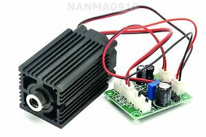 Focusable 200mw 980nm Infrared Ir Laser Diode Module Cross 12v Ttl Fan Cooling
