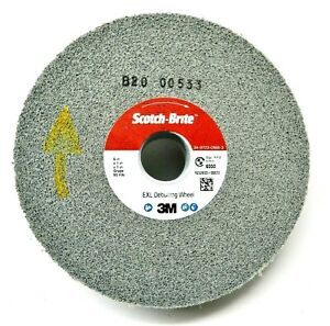 3m Scotch brite Exl Deburring Wheel 6 x1 x1 9s Fin Surface Finishing 3m 05132