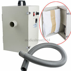 Portable Table Type Digital Suction Dental Vacuum Dust Collector Cleaner