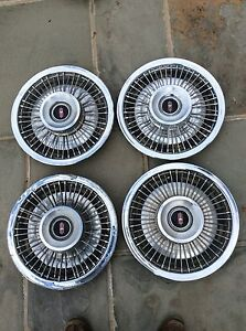 1968 Oldsmobile F85 Cutlass 14 Wire Hubcaps