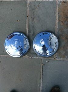 1968 70 Oldsmobile 10 5 Dog Dish Hubcaps