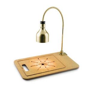 Cres Cor Ifw 61 wf pb Brass Hood Infra Red Warmer Carving Station