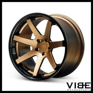 20 Ferrada Fr1 Bronze Concave Wheels Rims Fits Jaguar Xkr