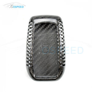 Bospeed Real Carbon Fiber Remote Key Cover Case Skin Shell For Toyota