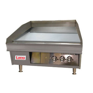 Lang 148tc 48 Electric Countertop Griddle