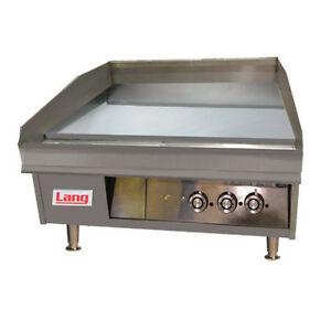 Lang 248t 48 Gas Countertop Griddle