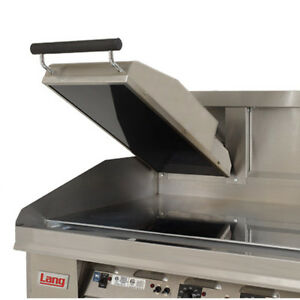 Lang Csg24 Gas Infrared Griddle Clamshell Hood
