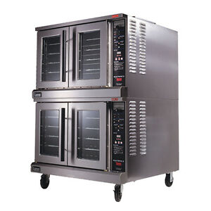 Lang Ecod ap2 Electric Bakers Depth 2 Deck Convection Oven